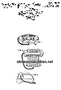 Patent Art: 1960s CHATTER TELEPHONE Fisher Price Toy (Image1)