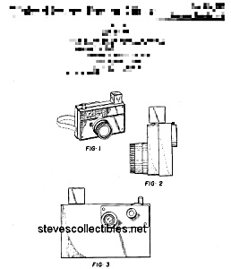 Patent Art: 1960s PICTURE STORY CAMERA Fisher Price Toy (Image1)