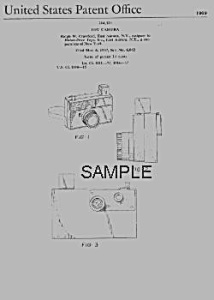 Patent Art: PICTURE STORY CAMERA Fisher Price Toy (Image1)