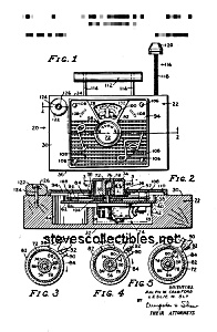 Patent Art: 1960s TV-RADIO #148 FISHER PRICE Toy (Image1)