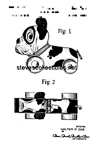Patent Art: BUTCH THE PUP #333 FISHER PRICE Toy-matted (Image1)