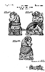 Patent Art: 1940s SHAWNEE PUSS'N BOOTS Cookie Jar (Image1)