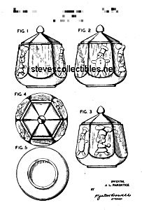 1950s SHAWNEE LITTLE CHEF Cookie Jar Patent (Image1)