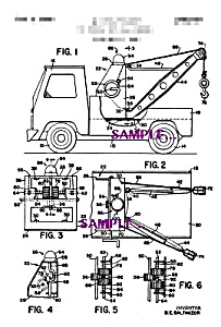 Patent Art: 1970s BUDDY L  TOY Tow Truck (Image1)