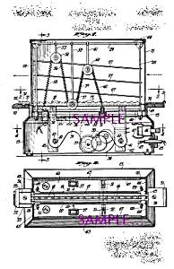Patent Art: 1930s TOAST-A-LATOR Conveyor Toaster (Image1)