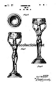 Patent Art: 1950s C ROMANELLI Designed Nude Figurine (Image1)