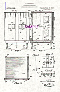 Patent Art: 1910s HOWARD THURSTON Spirit Cabinet (Image1)