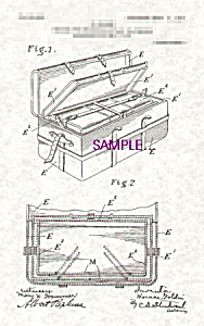 Patent Art: 1900s  HORACE GOLDIN Nesting Trunks (Image1)
