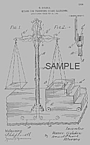 Patent Art: 1900s HORACE GOLDIN Magic Weigh Scales (Image1)