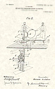 Patent Art: 1900s HORACE GOLDIN Levitation ILLUSION (Image1)