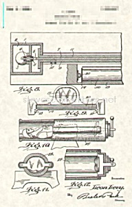Patent Art: 1920s GREAT LEON Human Cannon Magic (Image1)