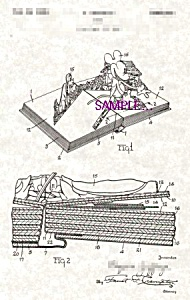 Patent Art: 1930s Mickey Mouse POP-UP BOOK - Matted (Image1)