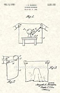 Patent Art: 1940s Magician JOE KARSON Zombie Ball (Image1)