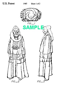 **Patent:80s STAR WARS Bib Fortune Toy Figure (Image1)