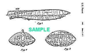Patent:80s STAR WARS Rebel Med. Transport Toy (Image1)