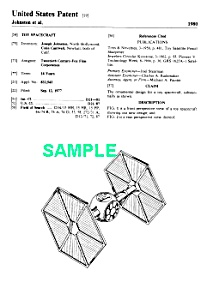 Patent Art: 1980s Star Wars Tie Fighter Toy