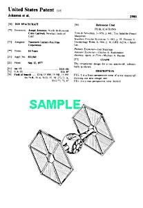 Patent: 1980s STAR WARS Tie Fighter Toy (Image1)