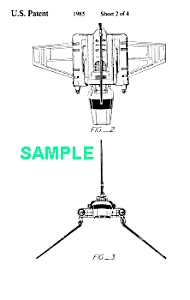 Patent: 1980s STAR WARS Imperial Shuttle Toy (Image1)