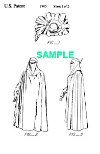 Patent:80sSTAR WARS Emperors Royal Guard Toy (Image1)
