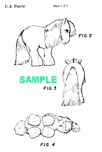 Patent Art: 1980s MY LITTLE PONY Toy - Matted Print (Image1)