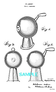 Patent Art: 1930s Raymond Loewy PENCIL SHARPENER 2 (Image1)