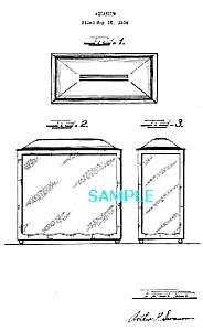 Patent Art: 1930s ART DECO Aquarium - matted (Image1)