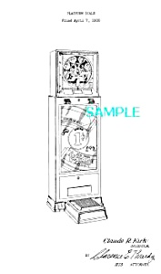 Patent Art: 1930s COIN-OP SCALE - matted (Image1)