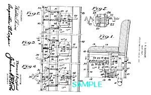Patent Art: Early 1920s Thief Trap-matted