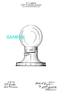 Patent Art: 1910s GUMBALL MACHINE-matted (Image1)