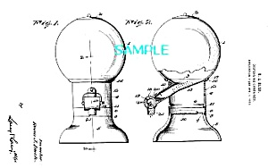 Patent Art: 1920s DISPENSING CONTAINER-matted (Image1)
