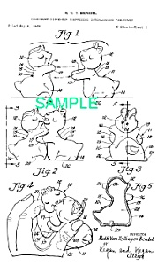 Patent Art: 1950s HUGGING SALT/PEPPER SHAKERS (Image1)