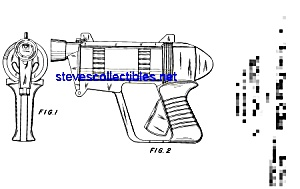 Patent Art: 1960s Toy Repeater Gun (Image1)