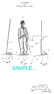 Patent Art: 1910s CHARLIE CHAPLIN - matted** (Image1)