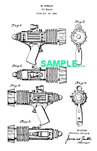 Patent Art: 1950s SPACE PATROL Atomic Pistol - Marx (Image1)