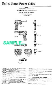 Patent: 1960s  AGENT ZERO M Toy Camera Gun (Image1)