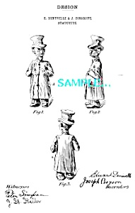 Patent Art: 1900s Happy Hooligan Character: GLOOMY GUS (Image1)