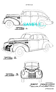 Patent Art: 1939 CHRYSLER AUTOMOBILE (Image1)