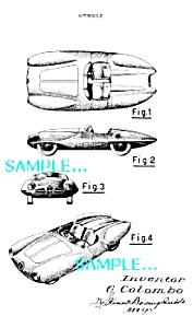 Patent Art: 1952/53 ALFA ROMEO SPORT C52 AUTOMOBILE (Image1)