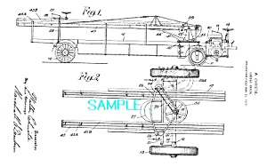 Patent Art: 1919 CHRISTIE LADDER TRUCK - Apparatus (Image1)