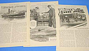 1926 Harbor Pirates/ny Magazine Article