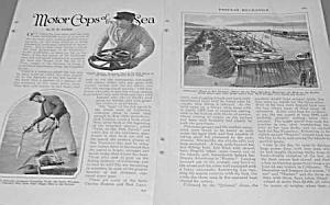 1927 MOTOR COPS OF THE SEA Magazine Article (Image1)