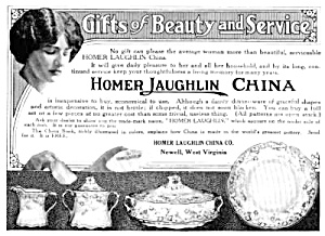 1913 Homer Laughlin China Mag. Ad