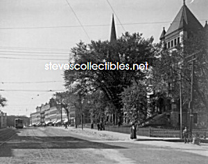 c.1908 NORTHAMPTON, MASS Main Street - Court Hous Photo (Image1)