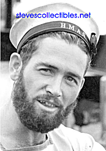 Fountain Boats For Sale >> Vintage HANDSOME Bearded SAILOR Photo-GAY INTEREST (Gay Interest) at Steve's Collectibles