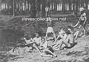 1930s Half-Naked SOLDIERS at Play Photo-GAY INTEREST (Image1)