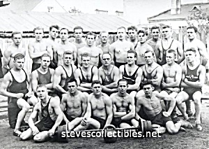 1920s WRESTLING CLUB - Muscular Men Photo -GAY INTEREST (Image1)