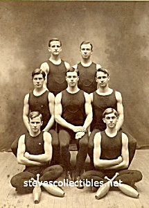 1904 RUTGERS GymnasticsTeam MUSCULAR Photo-GAY INTEREST (Image1)