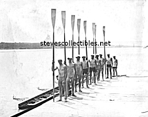 1911 CORNELL Rowing Team Photo - GAY INTEREST (Image1)