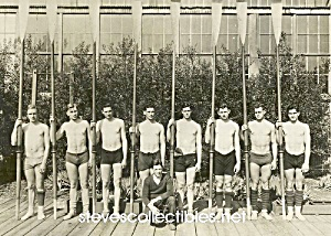 1888 YALE Rowing CREW TEAM Photo - GAY INTEREST (Image1)
