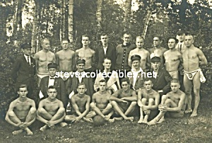 Early Nearly Naked BALL TEAM -  Photo - GAY INTEREST (Image1)
